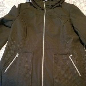 Black- All weather Jessica Simpson Jacket